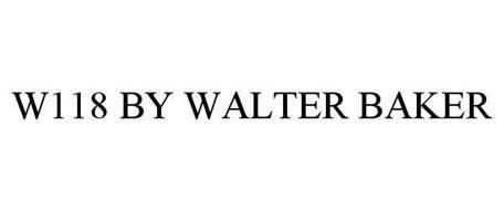 W118 BY WALTER BAKER