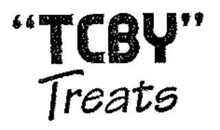 """""""TCBY"""" TREATS"""