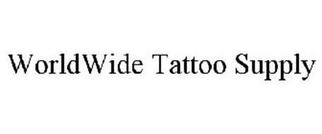 Worldwide tattoo supply trademark of tcm supply corp for World wide tattoo supply