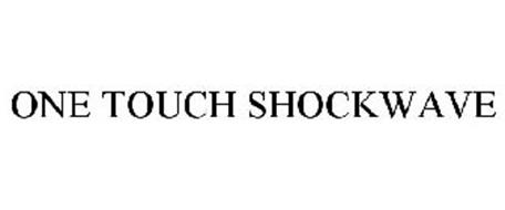 ONE TOUCH SHOCKWAVE