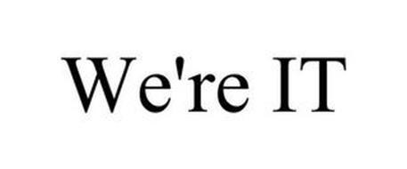 WE'RE IT