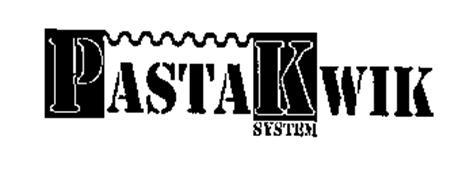 PASTAKWIK SYSTEM