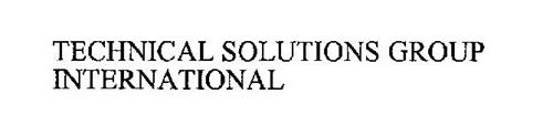 TECHNICAL SOLUTIONS GROUP INTERNATIONAL