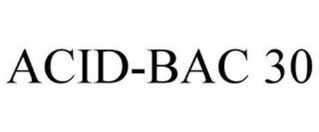 ACID-BAC 30