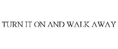 Turn It On And Walk Away Trademark Of Techtronic Floor
