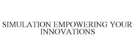 SIMULATION EMPOWERING YOUR INNOVATIONS