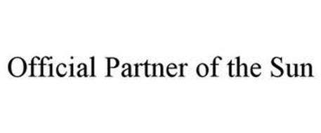 OFFICIAL PARTNER OF THE SUN