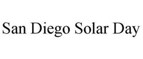 SAN DIEGO SOLAR DAY