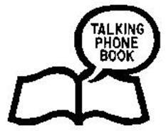 TALKING PHONE BOOK