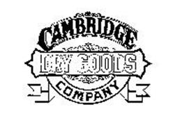 CAMBRIDGE DRY GOODS COMPANY