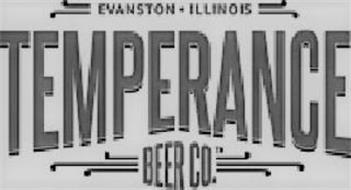 TEMPERANCE BEER CO. EVANSTON ILLINOIS