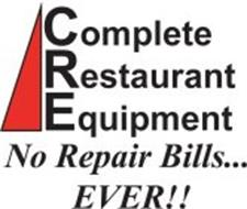 COMPLETE RESTAURANT EQUIPMENT NO REPAIR BILLS...EVER!!