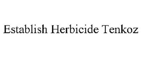 ESTABLISH HERBICIDE TENKOZ