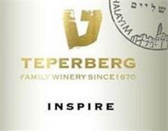 HALAYIM TEPERBERG FAMILY WINERY SINCE 1870 INSPIRE