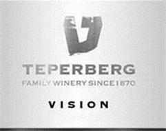 TEPERBERG FAMILY WINERY SINCE 1870 VISION