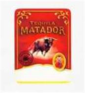 TEQUILA MATADOR HECHO EN MEXICO