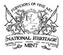 PURVEYORS OF FINE ART N H NATIONAL HERITAGE MINT