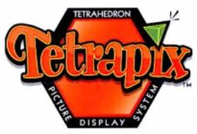 TETRAPIX TETRAHEDRON PICTURE DISPLAY SYSTEM