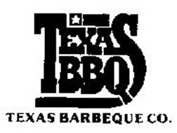 TEXAS BBQ TEXAS BARBEQUE CO.