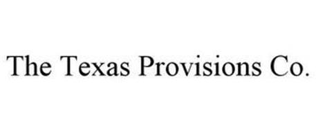 THE TEXAS PROVISIONS CO.