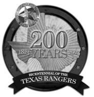 DEPT. OF PUBLIC SAFETY CAPTAIN TEXAS RANGERS 200 1823 YEARS 2023 BICENTENNIAL OF THE TEXAS RANGERS