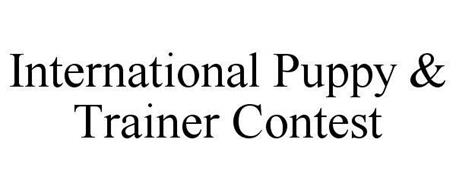 INTERNATIONAL PUPPY & TRAINER CONTEST