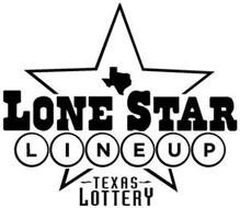 LONE STAR LINEUP - TEXAS - LOTTERY