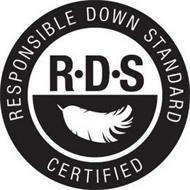 R·D·S RESPONSIBLE DOWN STANDARD CERTIFIED