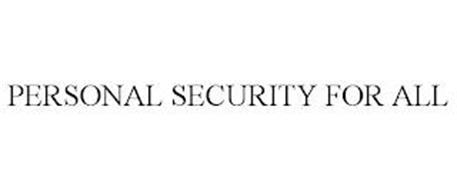 PERSONAL SECURITY FOR ALL