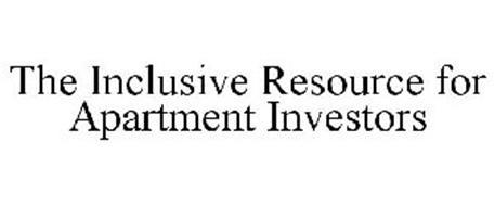 THE INCLUSIVE RESOURCE FOR APARTMENT INVESTORS