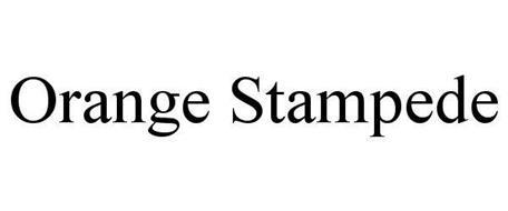 ORANGE STAMPEDE