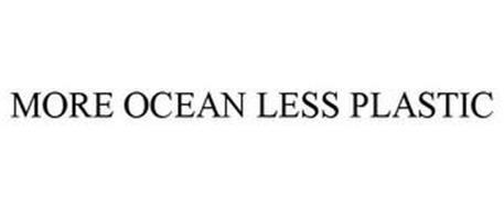 MORE OCEAN LESS PLASTIC