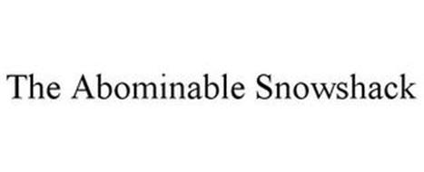 THE ABOMINABLE SNOWSHACK