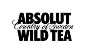 ABSOLUT COUNTRY OF SWEDEN WILD TEA