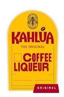 LICOR DE CAFE ESTD KAHLÚA KAHLÚA THE ORIGINAL COFFEE LIQUEUR ORIGINAL