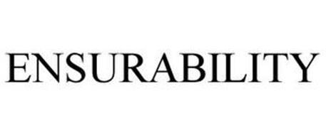 ENSURABILITY