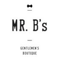 MR. B'S GENTLEMEN'S BOUTIQUE