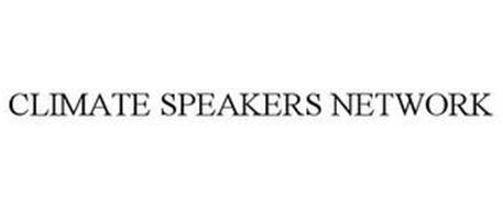CLIMATE SPEAKERS NETWORK