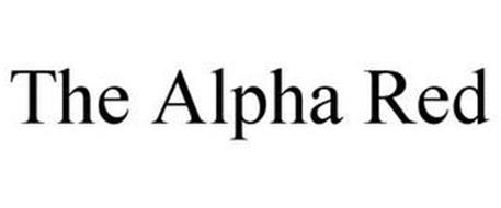 THE ALPHA RED