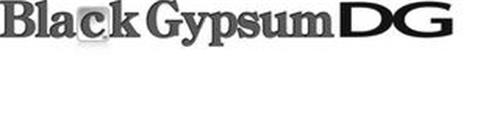 BLACK GYPSUM DG 12