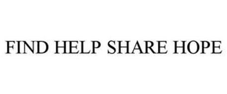 FIND HELP SHARE HOPE