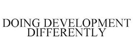 DOING DEVELOPMENT DIFFERENTLY