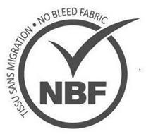 NBF TISSU SANS MIGRATION · NO BLEED FABRIC & DESIGN