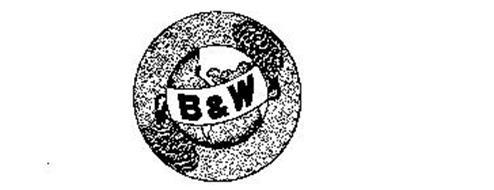 B & W