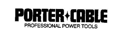 PORTER-CABLE PROFESSIONAL POWER TOOLS