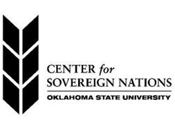CENTER FOR SOVEREIGN NATIONS OKLAHOMA STATE UNIVERSITY