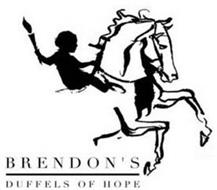 BRENDON'S DUFFELS OF HOPE
