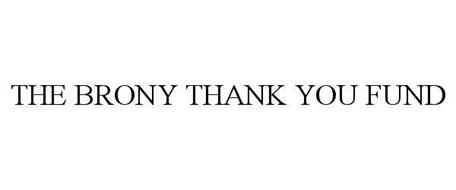 THE BRONY THANK YOU FUND
