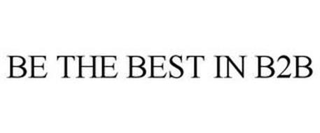 BE THE BEST IN B2B
