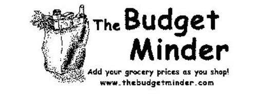 THE BUDGET MINDER ADD YOUR GROCERY PRICES AS YOU SHOP! WWW.THEBUDGETMINDER.COM